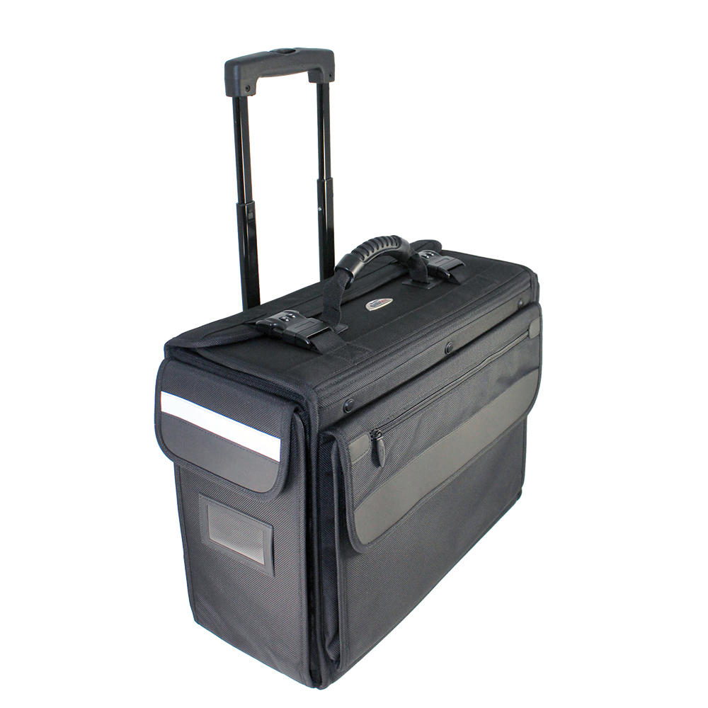 BALLISTIC NYLON ROLLING FLIGHT CASE ON WHEELS