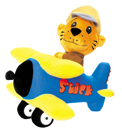 STICK AND RUDDER PLUSH AVIATION ANIMAL