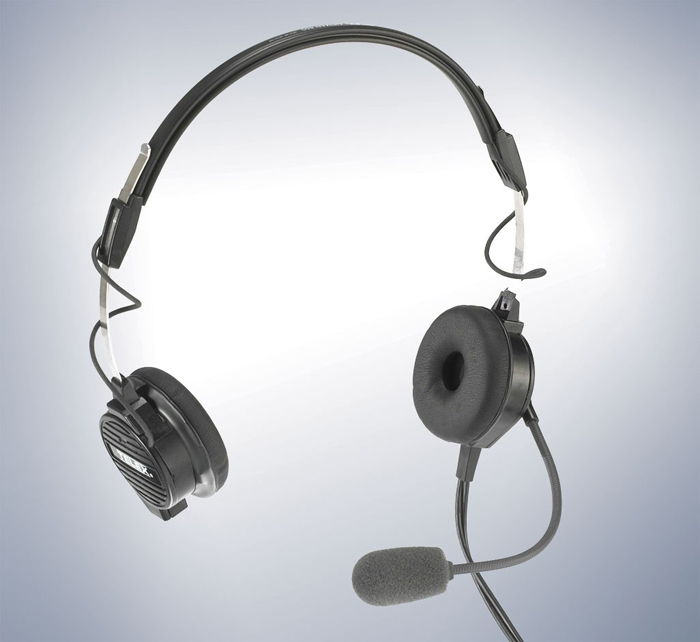 TELEX AIRMAN 850 AIRBUS CONNECTOR LIGHTWEIGHT ACTIVE NOISE REDUCTION HEADSET