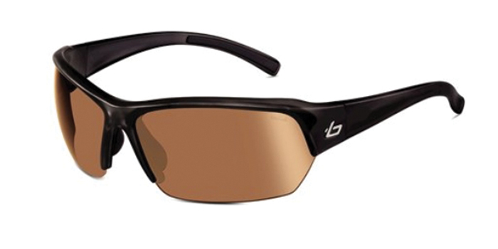 RANSOM BOLLE'  SUNGLASSES SHINY BLACKMODULATOR V3 GOLF OLEO AF