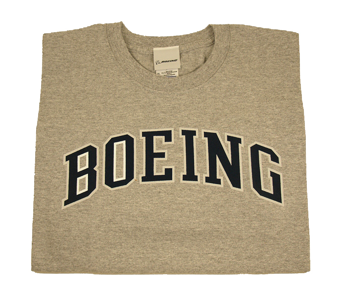 BOEING ATHLETIC T-SHIRT GREY
