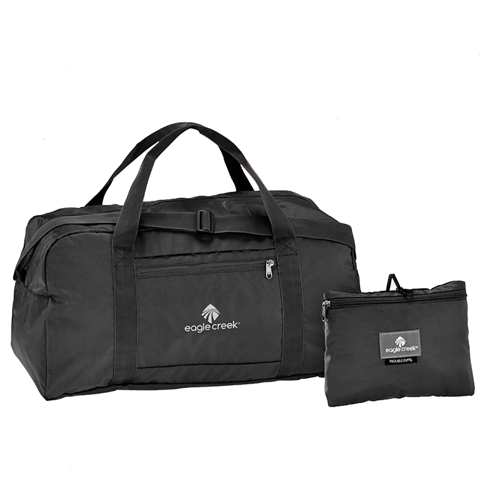 PACKABLE DUFFLEBAG MADE OF RIPSTOP NYLON WITH LIFETIME WARRANTY