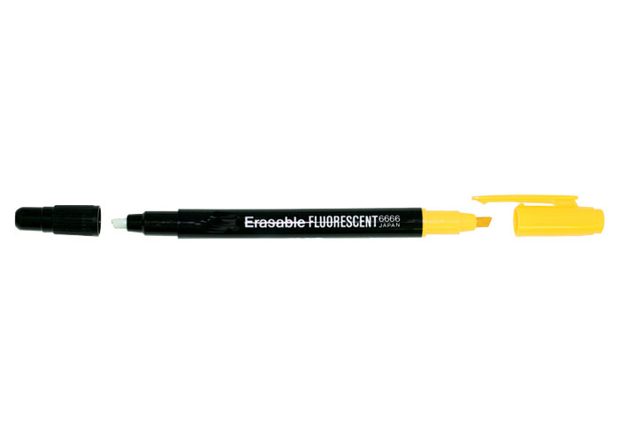 ERASABLE FLORESCENT HIGHLIGHTER