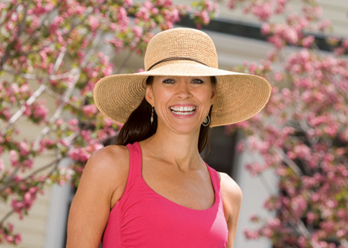 PACKABLE SUNHAT NATURAL