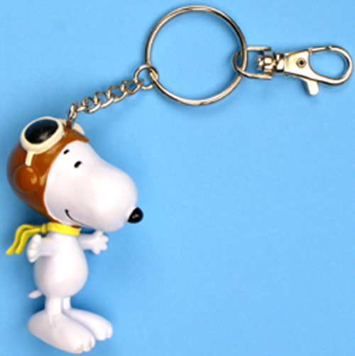 KEY CHAIN- SNOOPY FLYING ACE