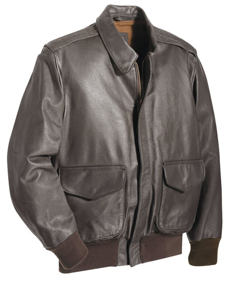 CLASSIC LEATHER A-2 AIR FORCE ISSUE PILOT'S JACKET