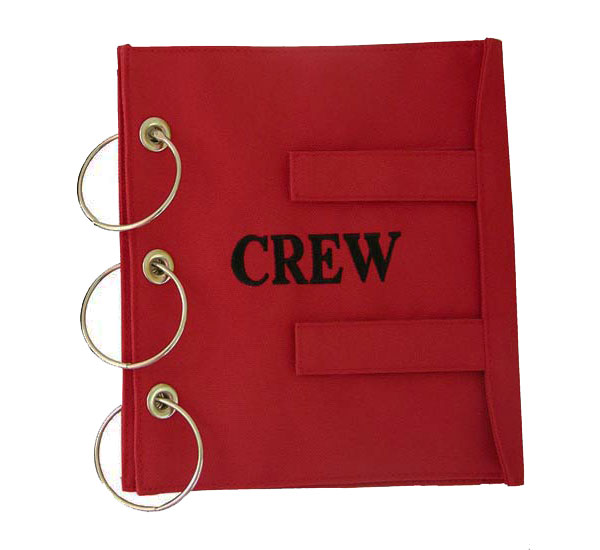 EMERGENCY CREW MANUAL COVER  RED
