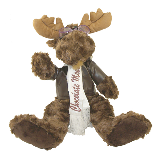 FLYING MOOSE AVIATOR STUFFED ANIMAL
