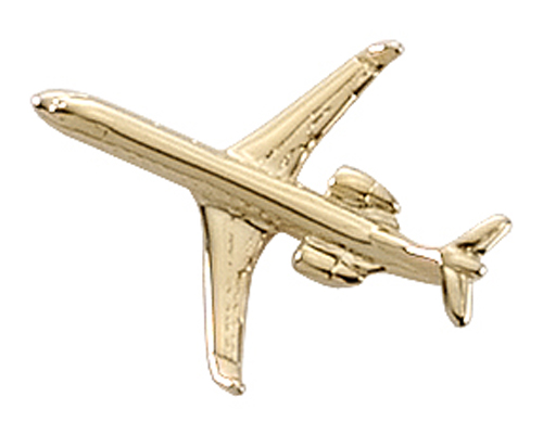 AVIATION TAC PIN GOLDTONE - CRJ200