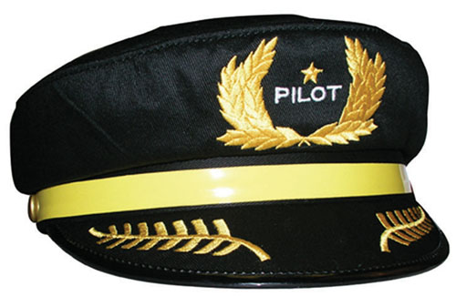 CHILD'S PILOTS HAT