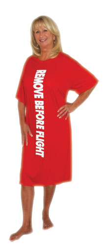REMOVE BEFORE FLIGHT LONG SLEEP SHIRT