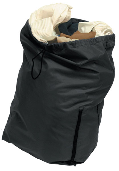 STOWAWAY LAUNDRY BAG BLACK