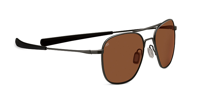 SORTIE SERENGETI SUNGLASSES SATIN BLACK DRIVER