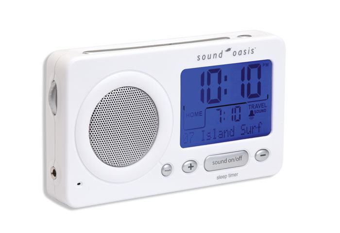 OASIS TRAVEL SLEEP SOUND THERAPY SYSTEM WHITE