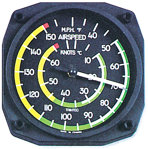 AIRSPEED THERMOMETER