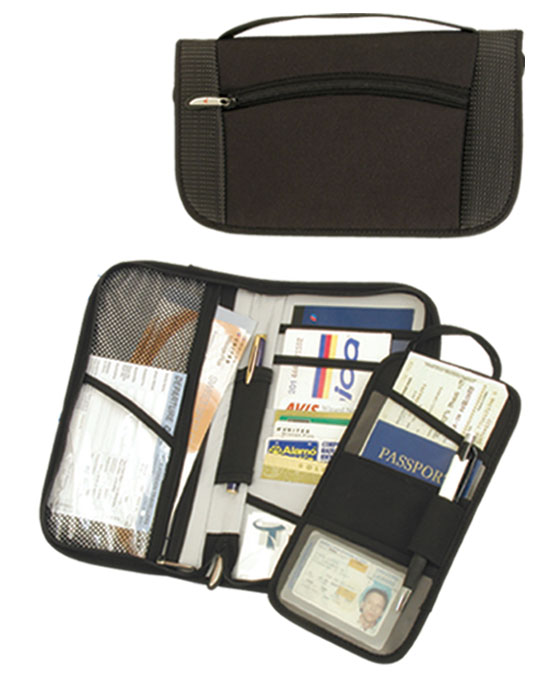 DOCUMENT ORGANIZER PLUS ID/BOARDING PASSHOLDER
