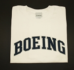 BOEING ATHLETIC T-SHIRT WHITE