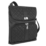 ANTI-THEFT SIGNATURE MESSENGER BAG BLACK