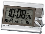 CLASSIC DIGITAL TRAVEL ALARM CLOCK WITH GLOBAL RADIOWAVE