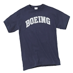 BOEING ATHLETIC T-SHIRT NAVY