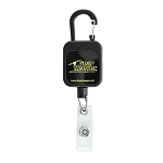SUPER BADGE RETRACTOR - CARABINER CLIP