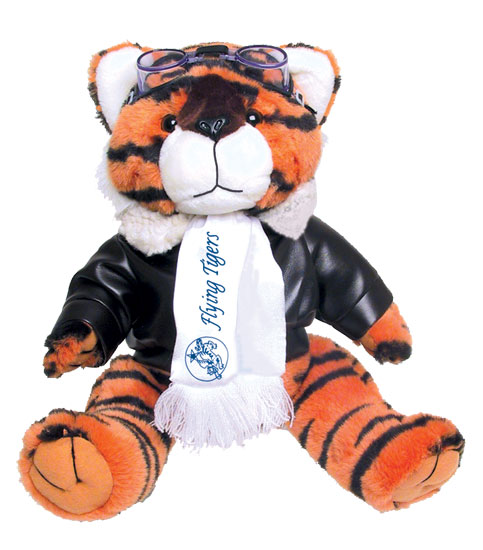 FLYING TIGER AVIATOR STUFFED ANIMAL
