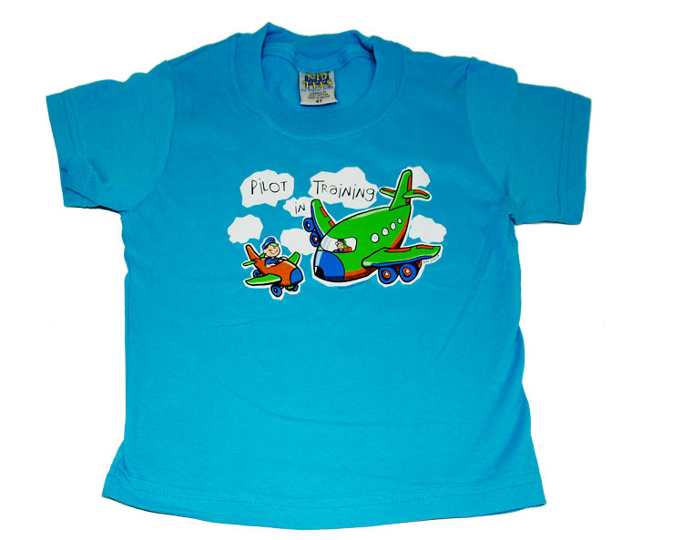 CHILDREN'S 'PILOT IN TRAINING' T-SHIRT