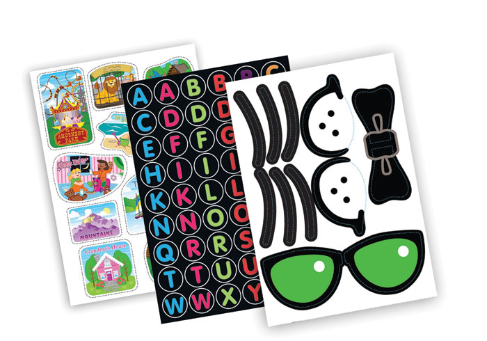 TRUNKI STICKER SET