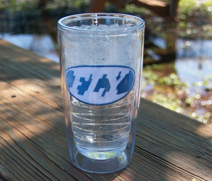 16OZ TERVIS TUMBLER W/FLY ILLUSION LOGO