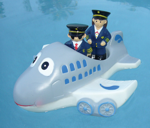 JET TUB TOY WITH CREW 3-PIECE SET