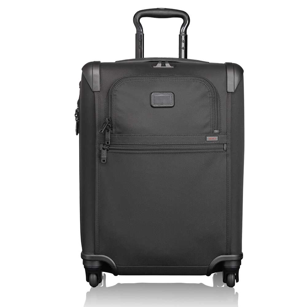 LUXURY 4-WHEELED CARRY-ON - EXPANDABLE WITH J-HOOK
