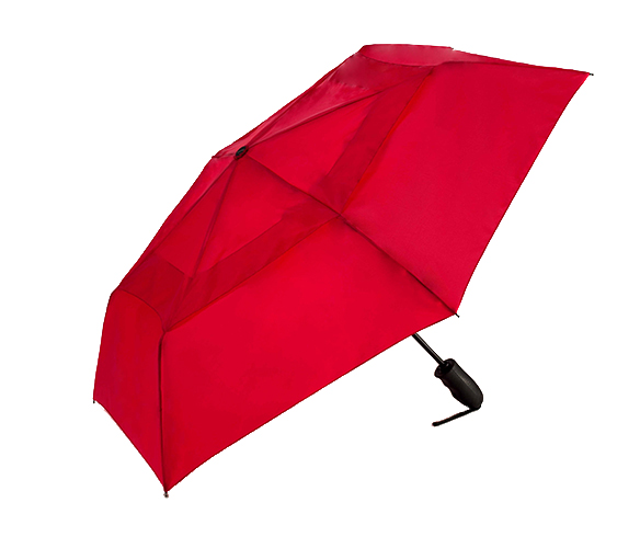 WIND DEFYING PACKABLE AUTO OPEN/CLOSE VENTED UMBRELLA