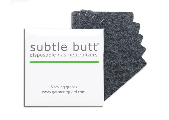 SUBTLE BUTT FART FILTERS (5 PACK)