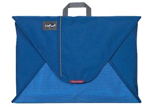PACK IT FOLDER WITH FOLDING BAND - PACIFIC BLUE