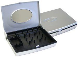 MINI-SMART JEWELRY CASE SILVER
