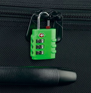 INDICATOR COMBINATION TSA LOCK