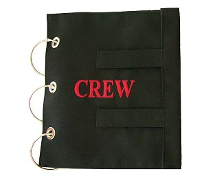 CREW MANUAL COVER BLACK