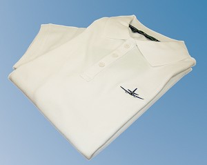 MENS JET POLO SHIRT WHITE