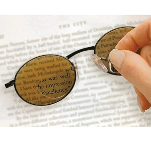 OPTICALLY CORRECT DIOPTER MAGNIFYING LENSES FOR SUNGLASSES