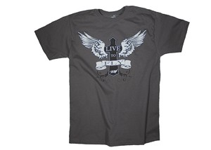 LIVE TO FLY - GRAY T-SHIRT